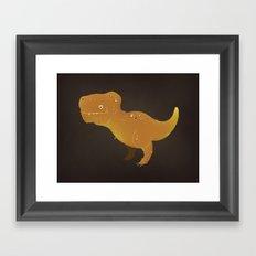 Tyrannosaurus Rex! Framed Art Print