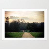 Into The Mystic - London Art Print