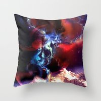 Celestial Force Throw Pillow