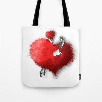 Heart Girls III Tote Bag