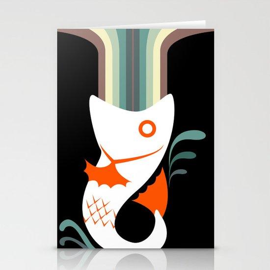 Fish Stationery Card