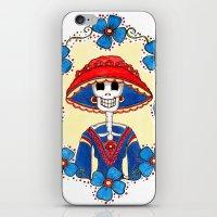 Catrina Doña Amelia iPhone & iPod Skin
