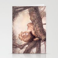 Up a Tree Stationery Cards
