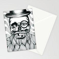 Mr. Skull Beard Stationery Cards