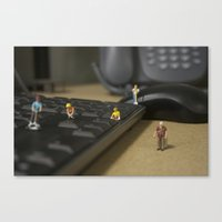 Corporate Clean-Up Canvas Print