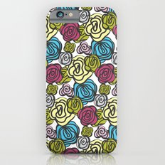 Bold roses iPhone 6 Slim Case
