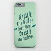 Break The Rules iPhone 6 Slim Case