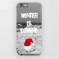 iPhone Cases featuring Winter is coming by Cs025