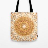 Autumn Gatherings --  Thanksgiving Abundance Mandala  Tote Bag