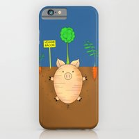 iPhone & iPod Case featuring Veggie bacon by complesso gasparo