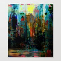 A moment in your city Canvas Print