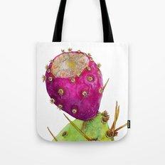 Prickly Pear Cactus Fruit Tote Bag