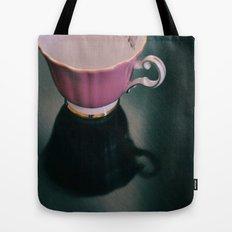 Pink Teacup Tote Bag