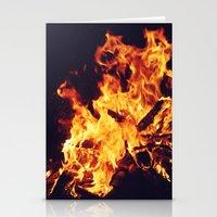 Let It Burn Stationery Cards