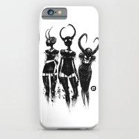 3 horned girls iPhone 6 Slim Case