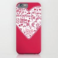 Te Amo iPhone 6 Slim Case