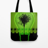 BulB Tree Tote Bag