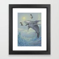 Celestial Travellers  Framed Art Print