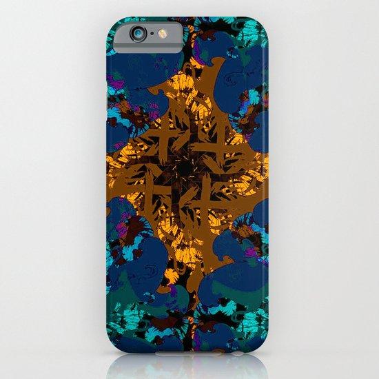 The circle of birds ... Dark iPhone & iPod Case