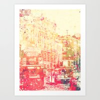 Street of London2 Art Print