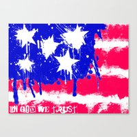 In God We Trust Canvas Print
