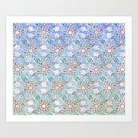 Doves (2) Art Print