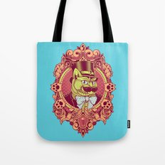 Hipster Mustache Cat Tote Bag