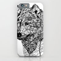 iPhone & iPod Case featuring Mr Wolf by luradontsurf