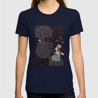 Five Hundred Million Lit… Womens Fitted Tee Navy SMALL