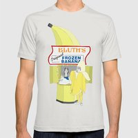 There's Always Money in the Banana Stand. Mens Fitted Tee Silver SMALL