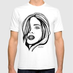 That Girl Mens Fitted Tee White SMALL