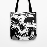 Tote Bag featuring 102 by ALLSKULL.NET