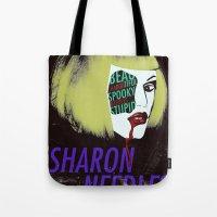 Sharon Needles Poster Tote Bag