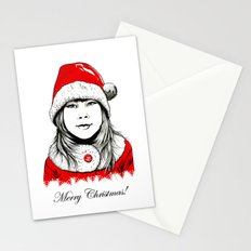 Snow-maiden Stationery Cards