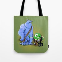 Hike and Chulley Tote Bag