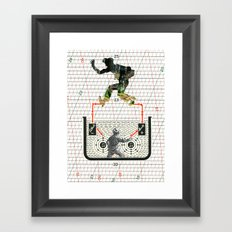 I'm A Part Of Nature, Not A Number - Series 2 Framed Art Print