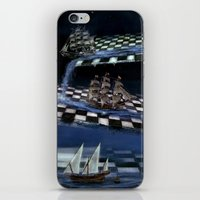 Turbulent journey time  iPhone & iPod Skin