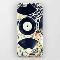 Missing Pieces iPhone & iPod Skin