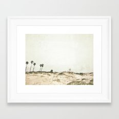 Manhattan Beach, California Framed Art Print
