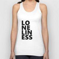 Loneliness Unisex Tank Top