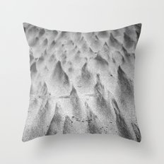 Shapes in the Sand II Throw Pillow