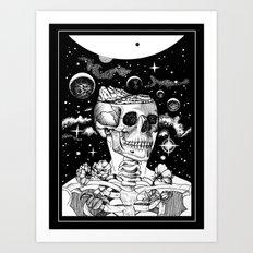 Inner Earth Art Print