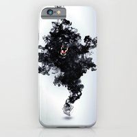 iPhone & iPod Case featuring Ink Panther by Falcon White