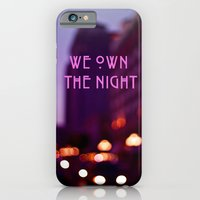 iPhone & iPod Case featuring We Own The Night by The Dreamery