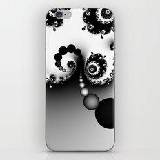 Black and White Fractal 16 iPhone & iPod Skin