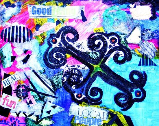 """Time-Keeps-Tickin"" Art Print"