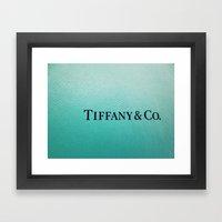Tiffany Framed Art Print