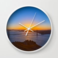 San Francisco Sunrise Wall Clock