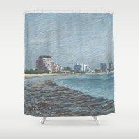 Revere Beach 1 Shower Curtain