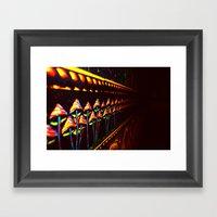 SHROOMS.... Framed Art Print